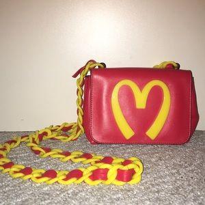 Moschino X Jeremy Scott crossbody bag
